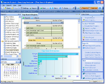 Deep Log Analyzer Screen shot